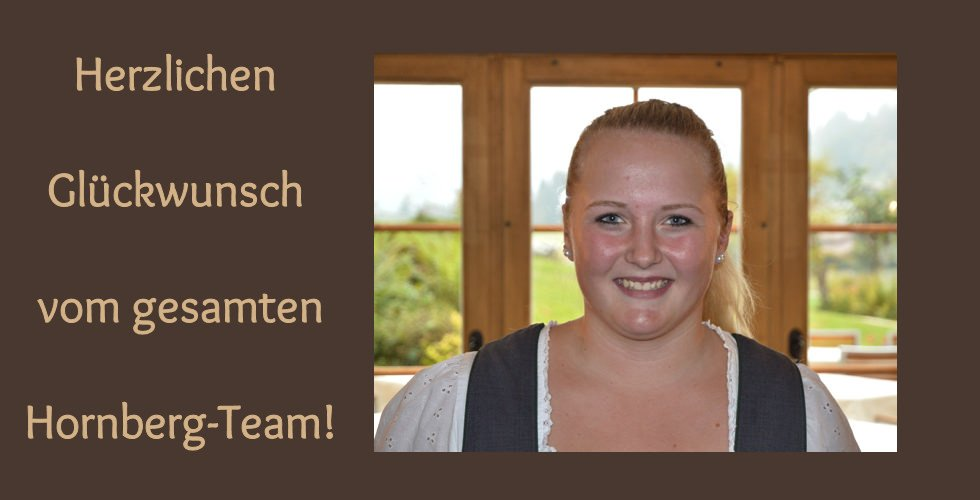 Restaurationsfachfrau EFZ - Linda hat's geschafft!