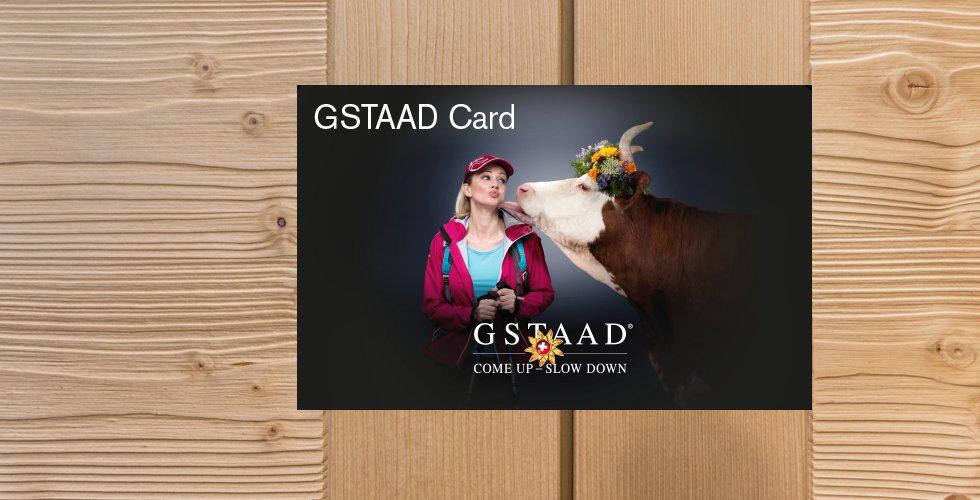 Gstaad Card - neu und noch attraktiver...