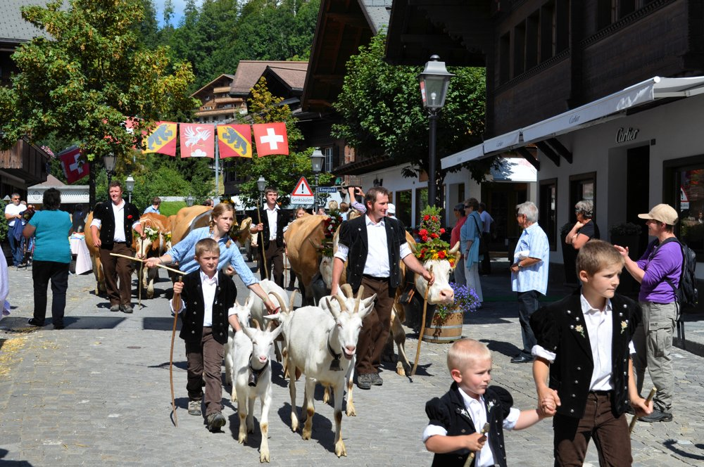 Gstaad Züglete am 2. September 2017
