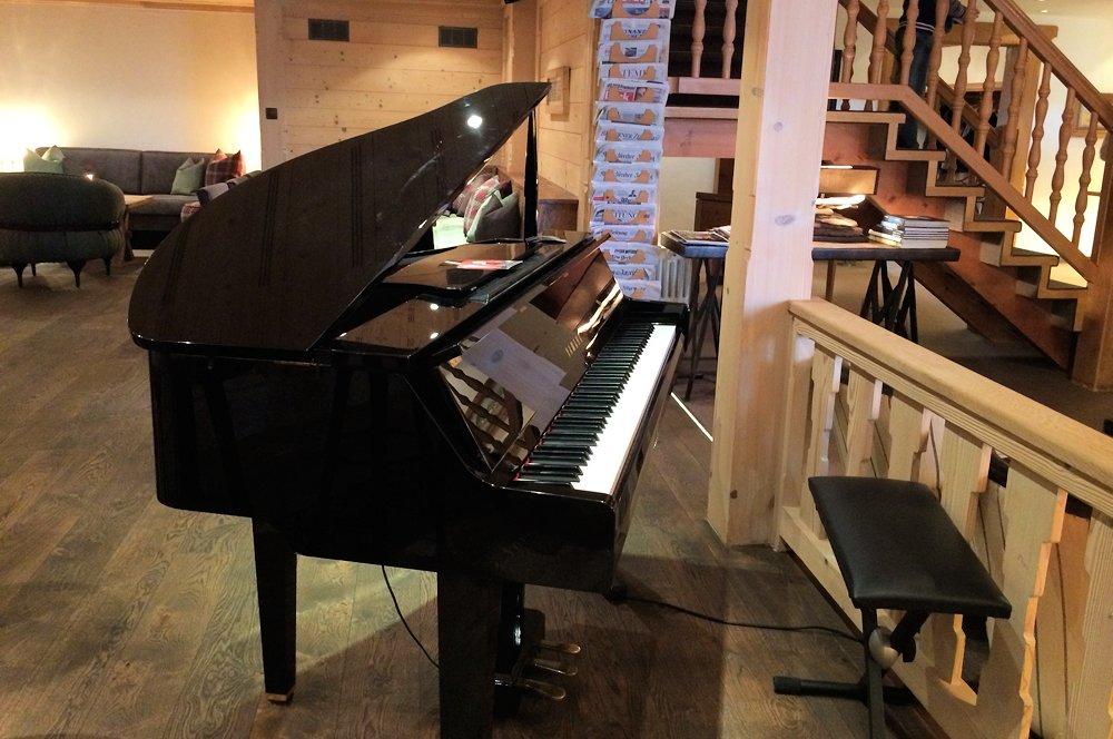 Das Piano steht bereit