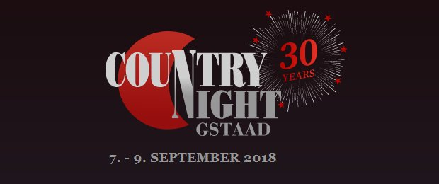 30. Country Night Gstaad 2018 und 1. Gstaader Schlagerparade