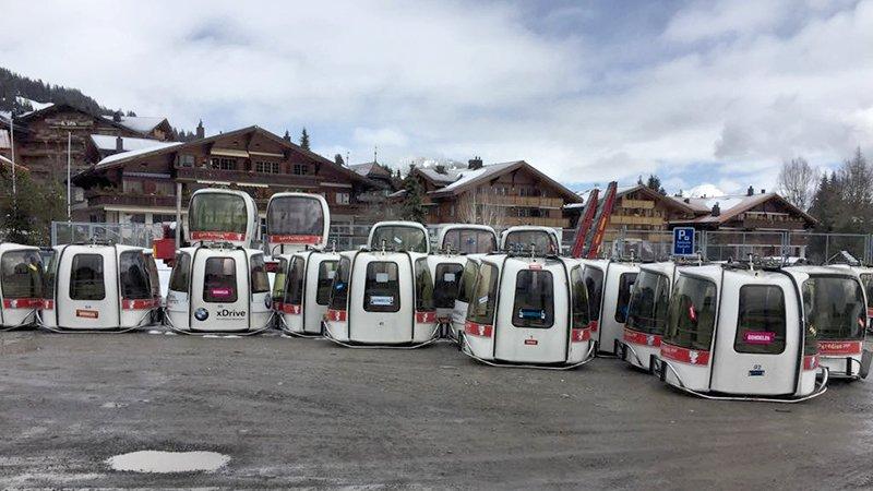 Mit der neuen Gondelbahn Saanenmöser-Saanersloch: schneller und komfortabler ins Skigebiet