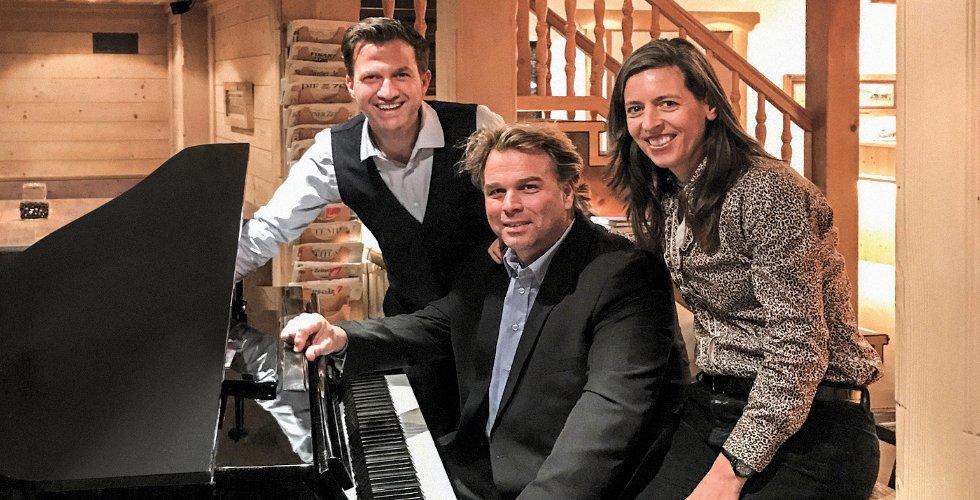 Der Boogie Woogie Piano-Abend mit Silvan Zingg