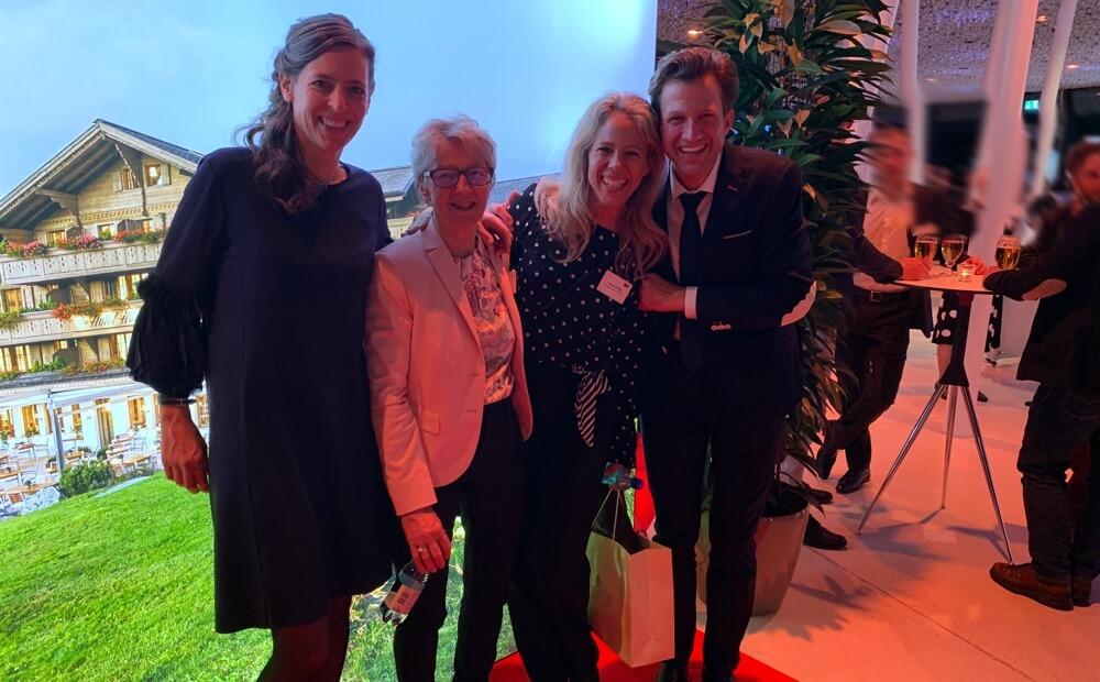 Prix SVC Espace Mittelland 2019: Platz 2 für das Team vom Romantik Hotel Hornberg