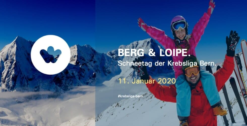 Kraft durch Freude Krebsliga Bern Berg und Loipe