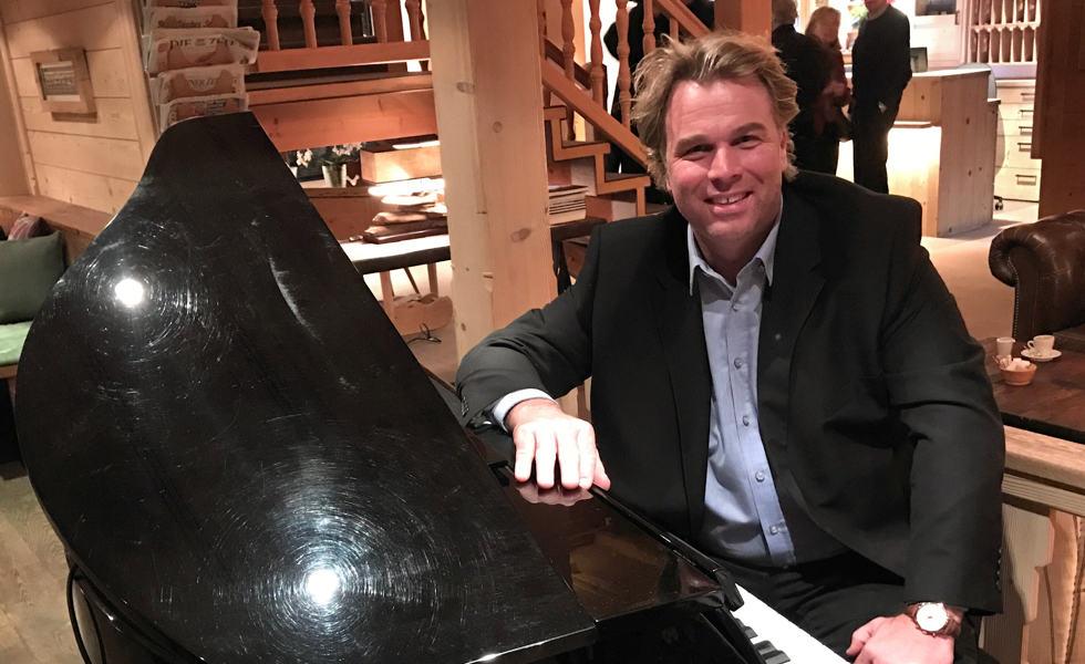 Boogie Woogie, Swing und Blues mit Silvan Zingg am Hornberg Piano-Abend